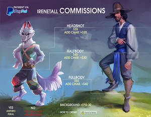 Commission info 06/2019 [CLOSED]