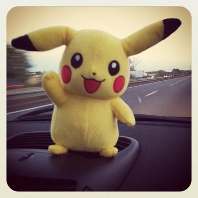 Pikachu plush by Flitzalys