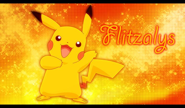 Flitz Pikachu by Flitzalys
