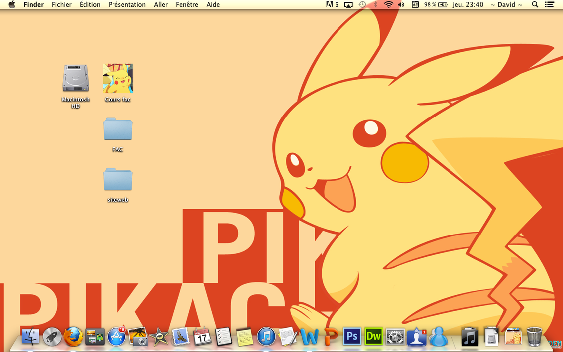 Pika Desktop by Flitzalys