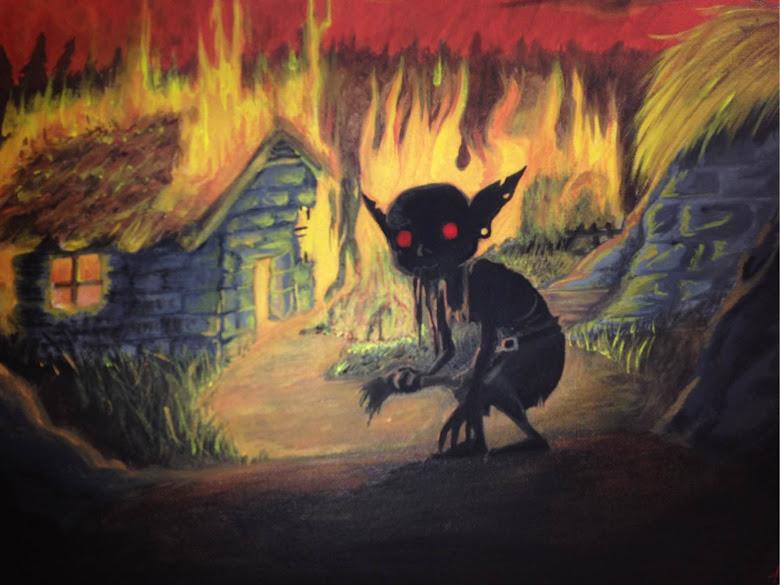 Lone Goblin by Fancy-Indigo