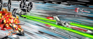 Battle of Yavin:Defends the death star.