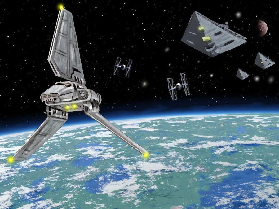 Imperial Shuttle by Tiefgrund