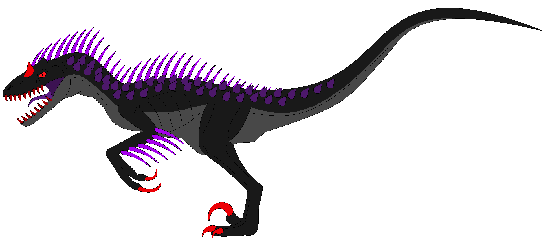 Elite Raptor's - Azazel's Indoraptor form by TeamDinosauria21 on ...