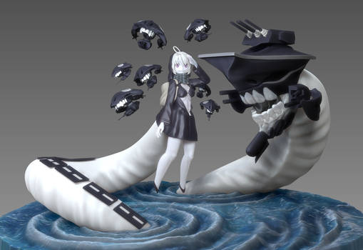 Kantai Collection's  Abyssal Battleship, Re-class