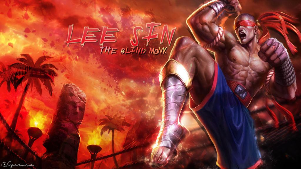 Lee Sin Muay Thai Wallpaper By Hyerina On Deviantart