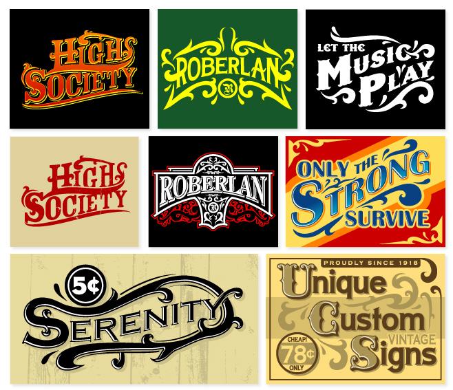 "Vintage logos | typesetting inspiration "" | Pinterest"