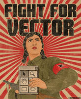 Fight For vector 2 by roberlan