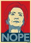 Hillary Nope