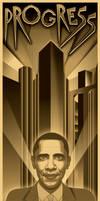 Progress for Metropolis by roberlan