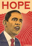 Yet another Obama portrait
