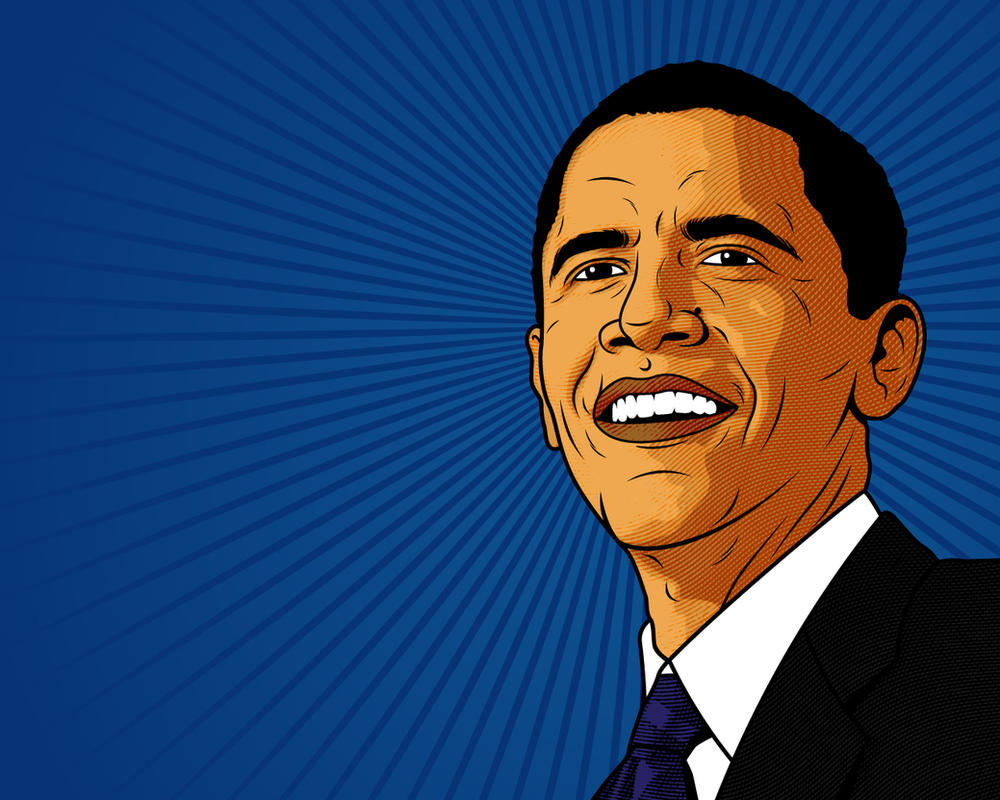 Obama desktop by roberlan