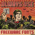 Freeware fonts guard 2