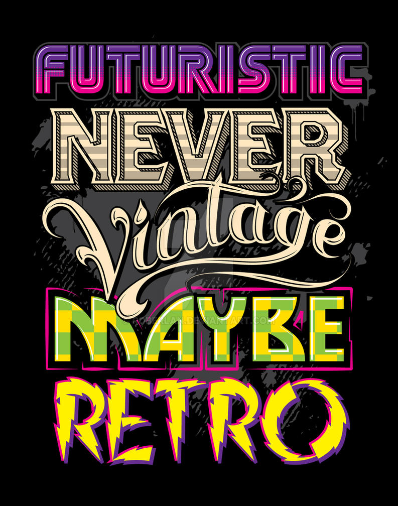 Type Shirt Design by roberlan