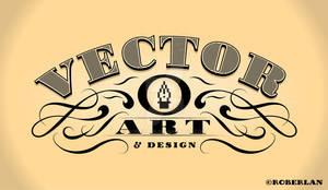 Vintage Vector Art Lettering