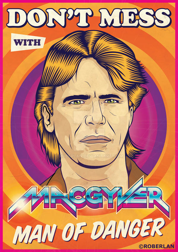 MacGyver Lamest Vector Ever by roberlan