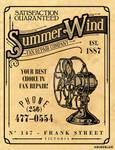Summer Wind Vintage Ad
