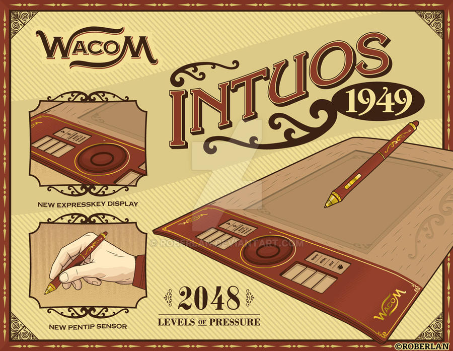 Wacom Intuos 1949 Box 1 by roberlan