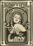 Art Nouveau lady