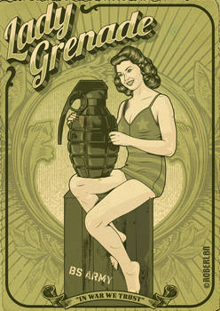 Lady Grenade BS Army