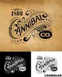 Cannibal Co Vintage Logo