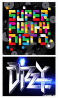 Dizzy Lego Type Treatments