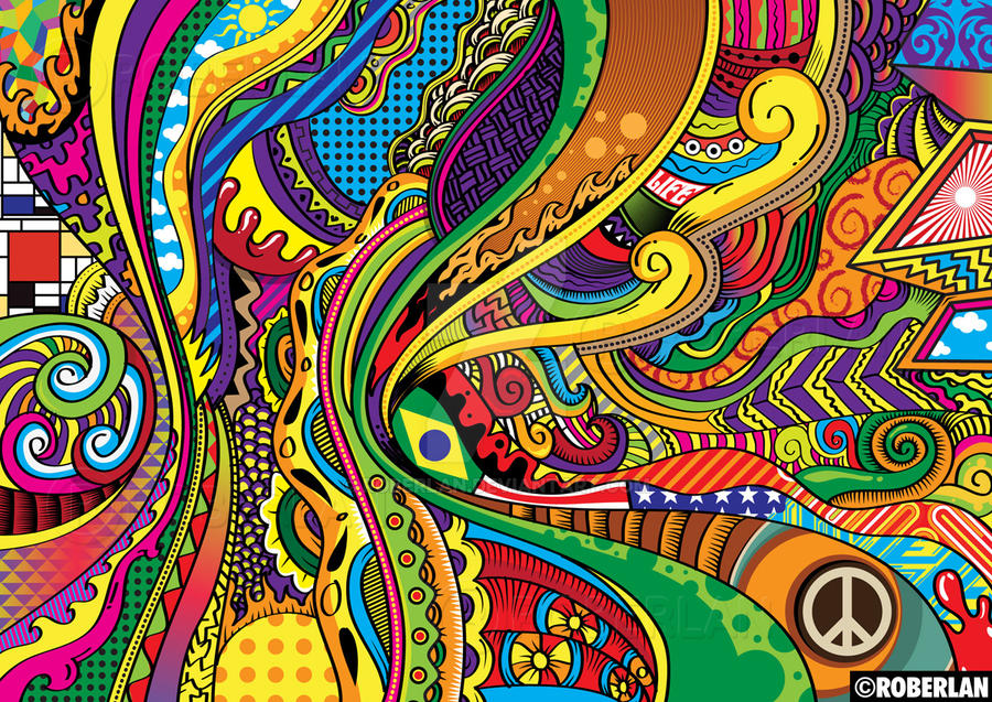 Color Doodle Vector by roberlan