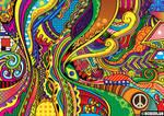 Color Doodle Vector