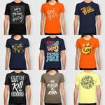 Typographic Tshirts