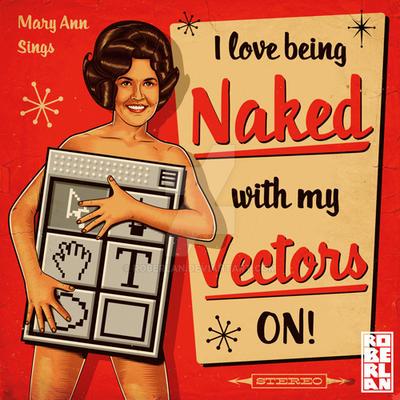 Naked Vectors by roberlan