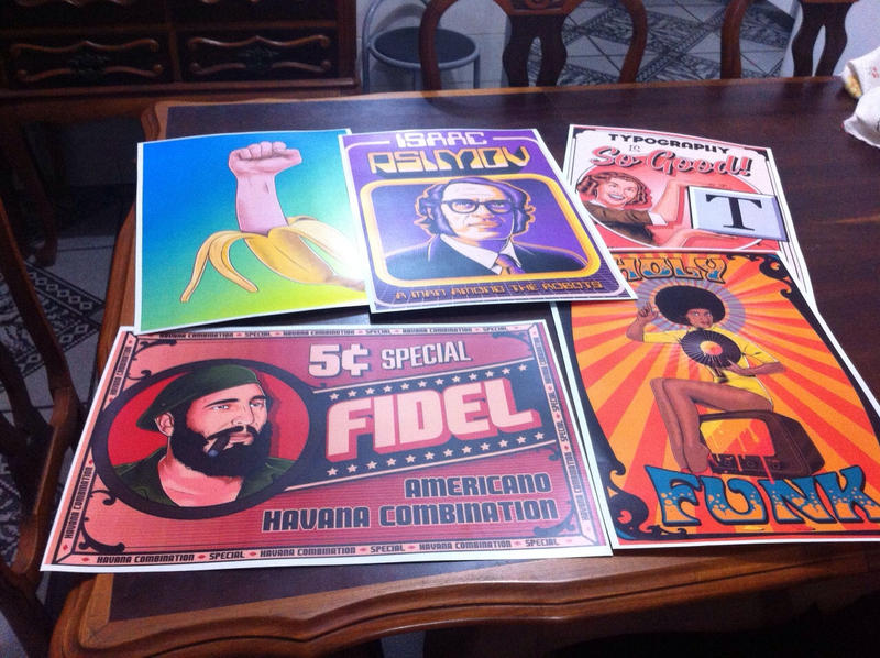 Printed Posters by roberlan