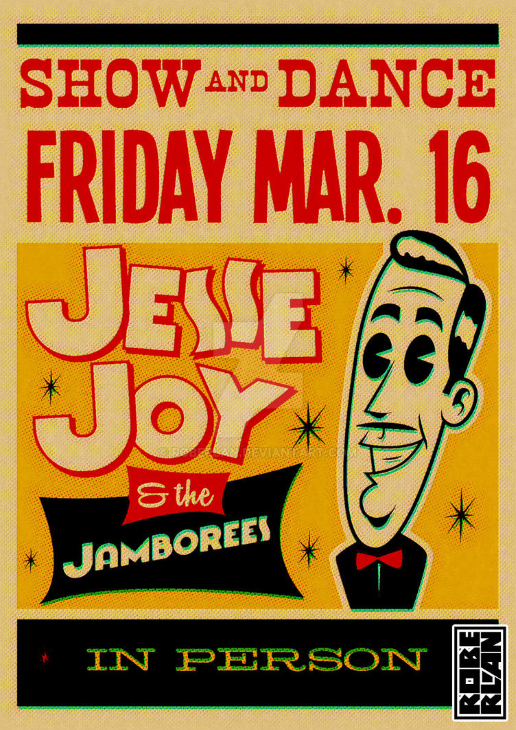 Jesse Joy and the Jamborees by roberlan