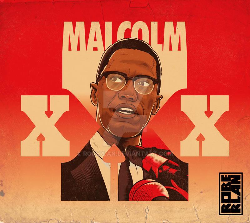 Malcolm XXX by roberlan