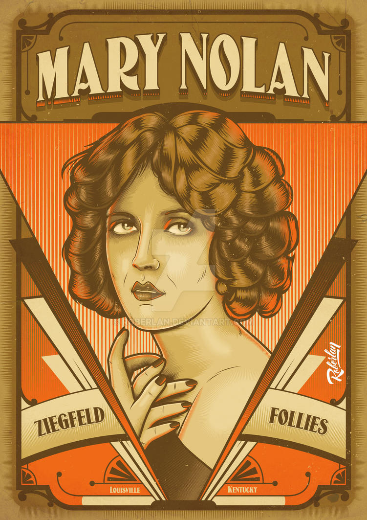 Mary Nolan by roberlan