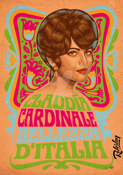 Claudia Cardinale by roberlan