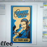Suave Coffee Poster WIP