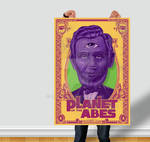 Planet of the Abes Poster