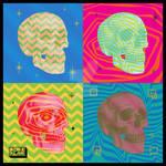 Pop Art Skulls