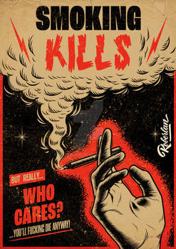 Smoking Kills Poster