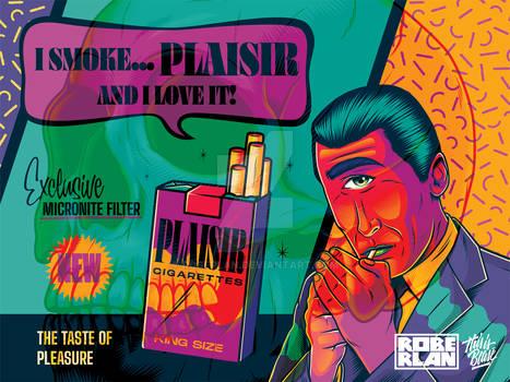 Vintage Plaisir Ad