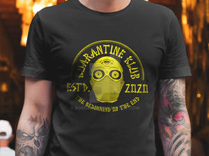Kuarantine Kulb Badge Tshirt