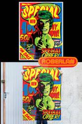 Retail Hulk poster