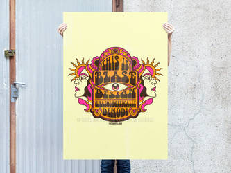 Psychedelic This is Blase Poster