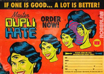 DupliKate Spoof Surreal Ad