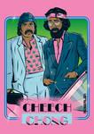Cheech Chong X Miami Vice