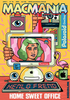 Macmania Psychedelic Cover