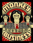 Planet of the greed apes