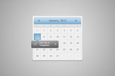 Stage Calendar