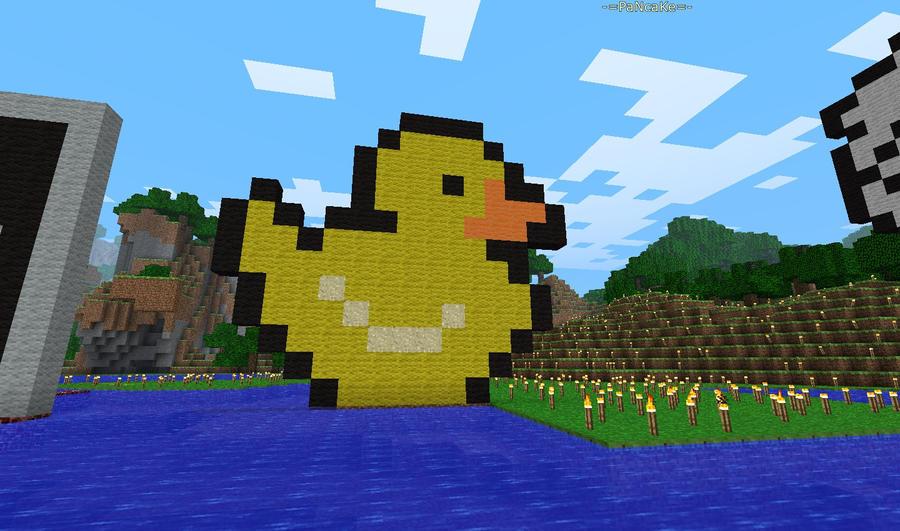 Minecraft Ducky By Prochyprochy On Deviantart