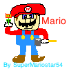 MY Very First Mario Drawing by supermariofan54321